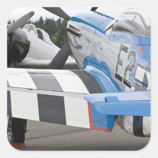 Washington, Olympia,  military airshow. 4 Square Sticker