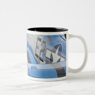Washington, Olympia,  military airshow. 4 Two-Tone Coffee Mug