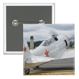 Washington, Olympia, military airshow. 6 15 Cm Square Badge