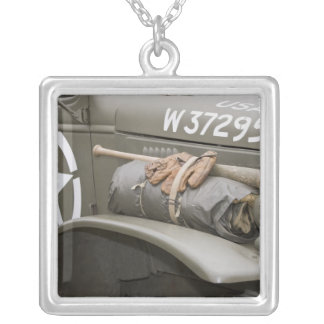 Washington, Olympia, military airshow. 7 Silver Plated Necklace