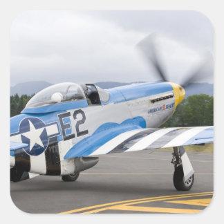 Washington, Olympia,  military airshow. Square Sticker