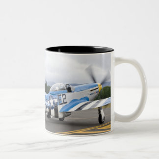 Washington, Olympia,  military airshow. Two-Tone Coffee Mug