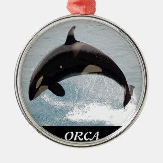 Washington Orca Whale Christmas Ornaments