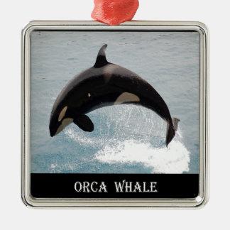 Washington Orca Whale Ornament
