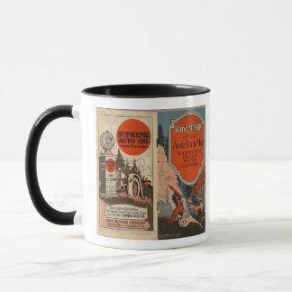 Washington, Oregon auto trails Mug