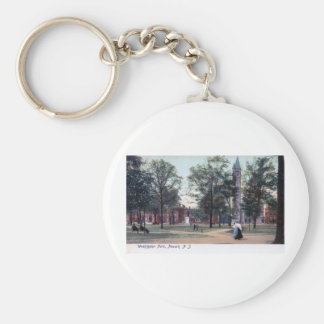 Washington Park, Newark NJ 1906 Vintage Key Ring