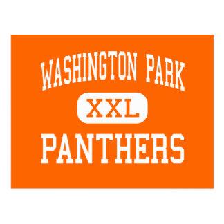 Washington Park - Panthers - High - Racine Postcard
