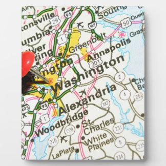 Washington Plaque