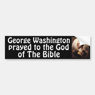 Washington Prayed Bumper Sticker