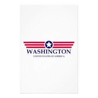 Washington Pride Customized Stationery