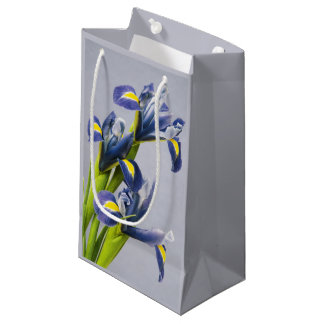 Washington, Redmond, Purple Irises Small Gift Bag