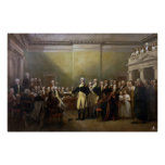 Washington Resigning his Commission John Trumbull Poster
