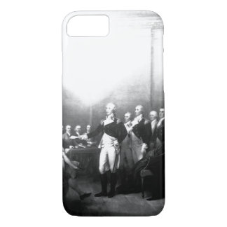 Washington Resigning his Commission_War Image. iPhone 7 Case