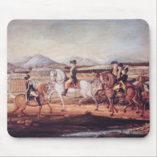 Washington Reviewing the Western Army Mouse Mat