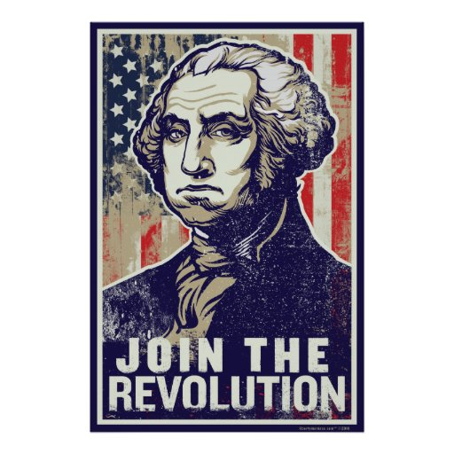 Washington Revolution Poster