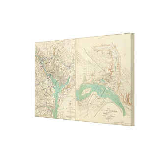 Washington, Richmond Canvas Print