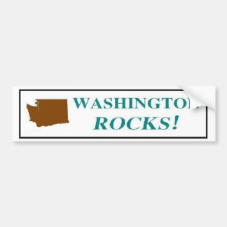 Washington Rocks! Bumper Sticker