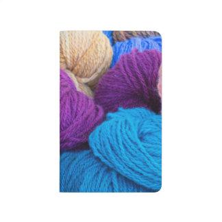 Washington, Seabeck. Balls of colorful yarn Journal
