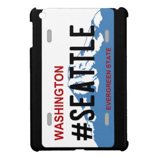 Washington Seattle license plate ipad case