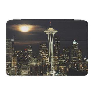 Washington, Seattle, Skyline at night from Kerry 2 iPad Mini Cover