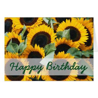 Washington, Seattle, Sunflower for sale pike Card