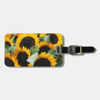 Washington, Seattle, Sunflower for sale pike Luggage Tag