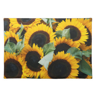Washington, Seattle, Sunflower for sale pike Placemat
