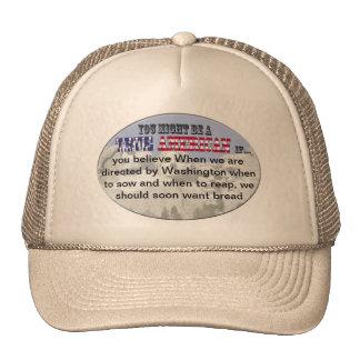washington sow reap bread mesh hats
