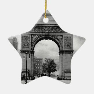 Washington Square Arch Christmas Ornament