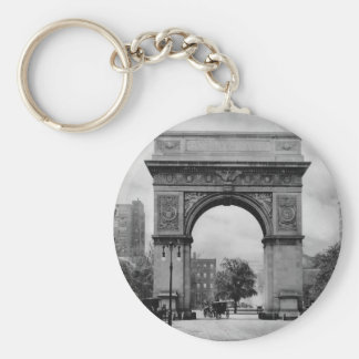 Washington Square Arch Key Ring