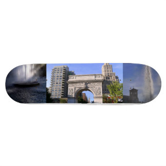 Washington Square Park and Fountains Skateboard