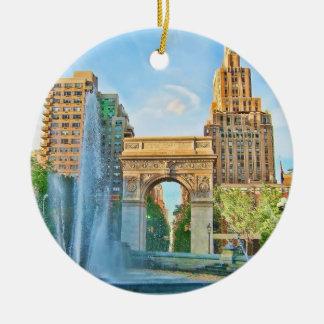 Washington Square Park, NYC Christmas Ornament