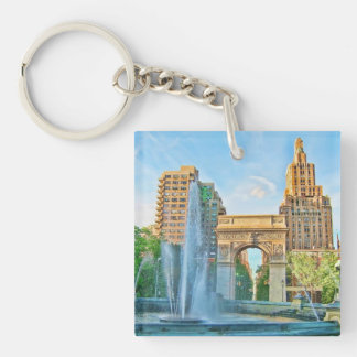 Washington Square Park, NYC Key Ring