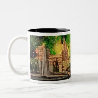 Washington Square Park, NYC Two-Tone Coffee Mug