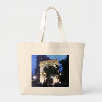 Washington Square Park Jumbo Tote Bag