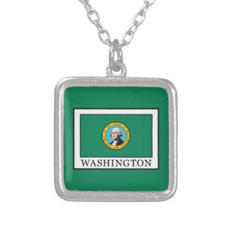 Washington Square Pendant Necklace