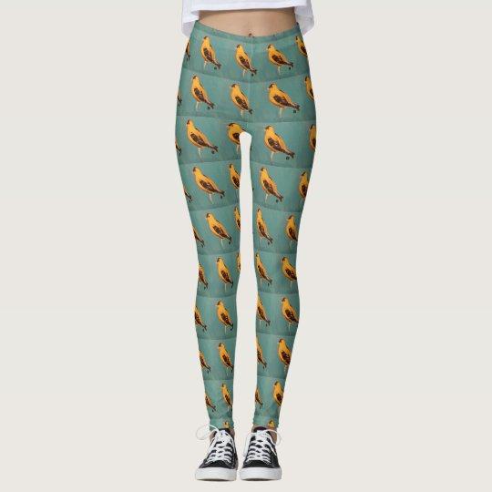 Washington State bird leggings