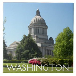 Washington State Capitol Photo Tile