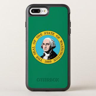 Washington State Flag OtterBox Symmetry iPhone 8 Plus/7 Plus Case