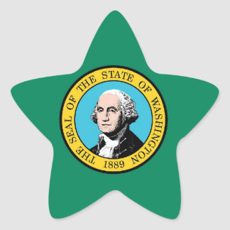 Washington State Flag Stickers