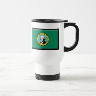 Washington State Flag Travel Mug