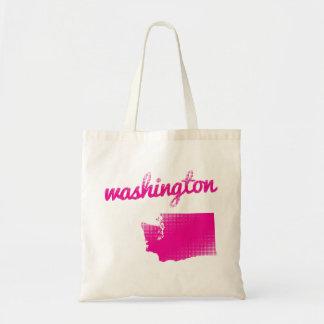Washington state in pink