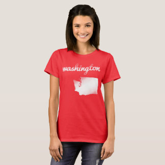 Washington State in white T-Shirt