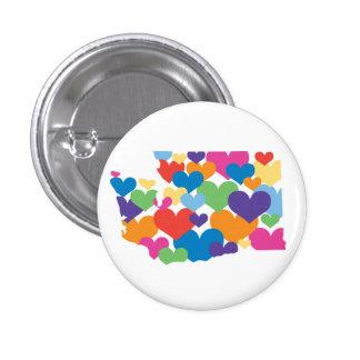 Washington State Love Button