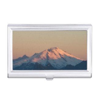 Washington State, North Cascades. Mount Baker Business Card Holder