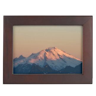 Washington State, North Cascades. Mount Baker Keepsake Box