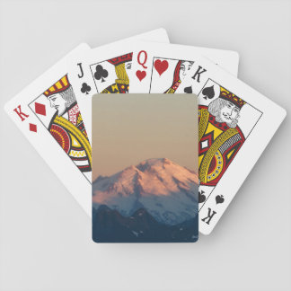 Washington State, North Cascades. Mount Baker Playing Cards