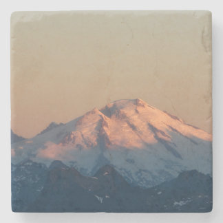 Washington State, North Cascades. Mount Baker Stone Coaster