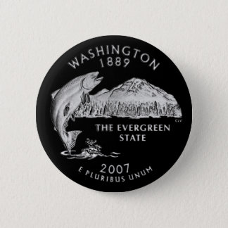 Washington State Quarter Button