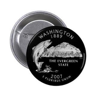 Washington State Quarter Button